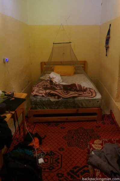 Room in kasbah Agdz