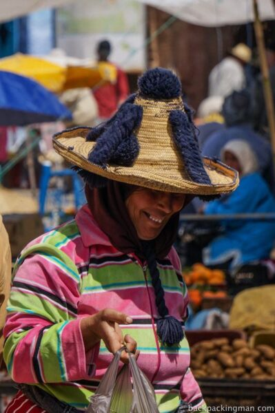 Traditional woman Chefchaouen