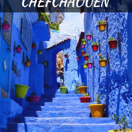 Inside The Blue Medina Of Chefchaouen In Morocco