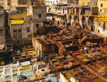 The Medieval City Of Fes In Morocco