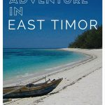 Off The Beaten Path Travel - East Timor in 2004