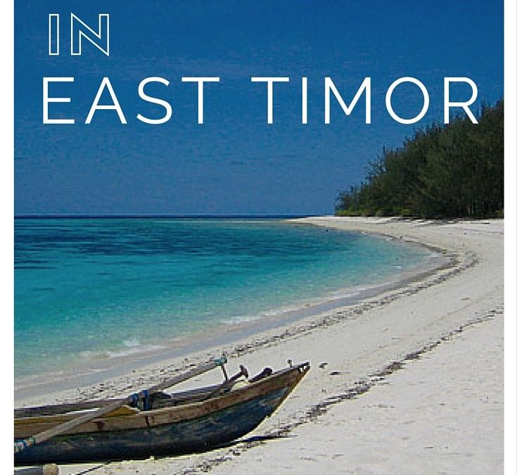 Off The Beaten Path Travel – East Timor in 2004