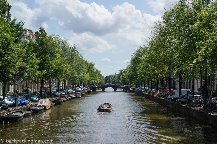 A Scenic Look At Amsterdam's Canals