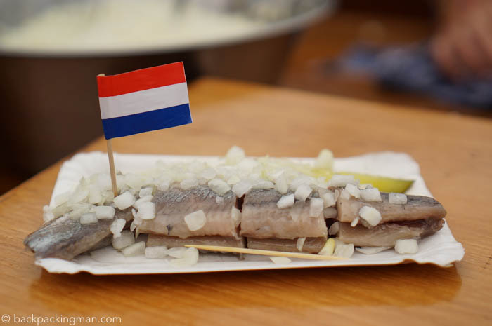 What it's Like Eating Raw Herring in Amsterdam