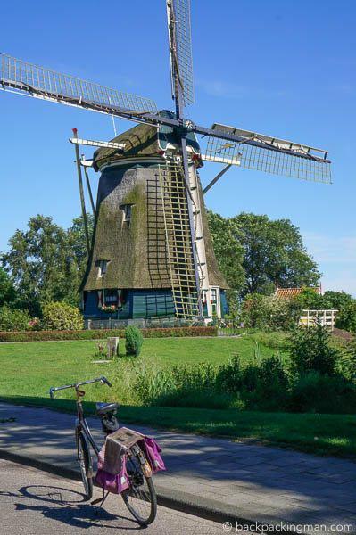 windmill amsterdam netherlands