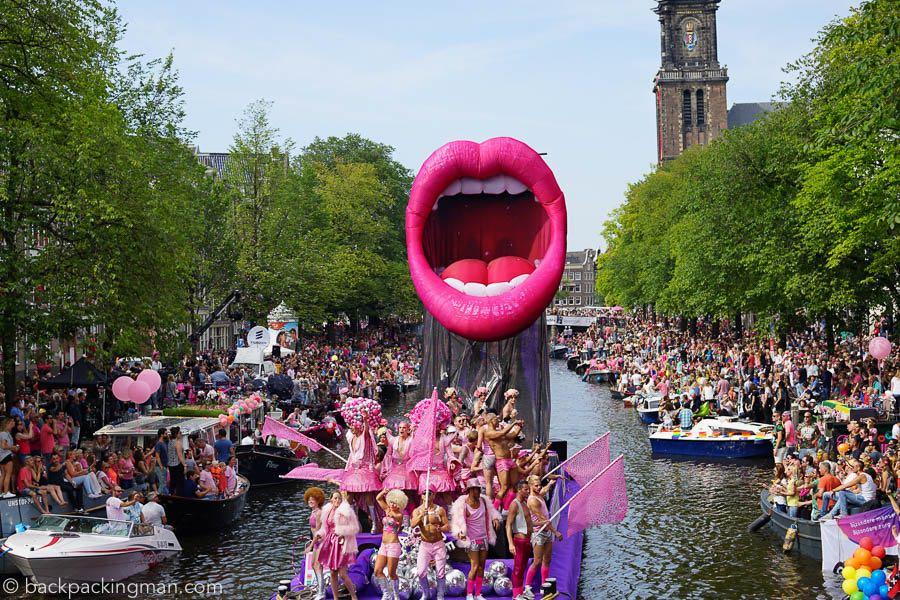 Amsterdam Gay Pride 2015 in Photos