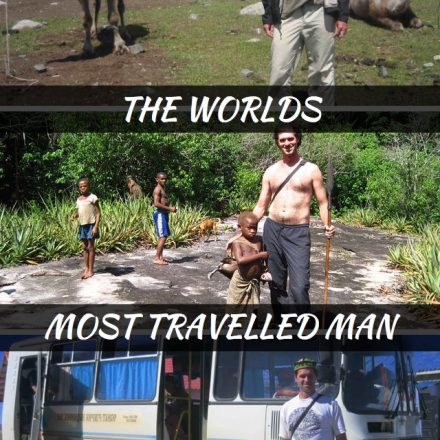 Interview With The Worlds Most Travelled Man - Mike Spencer Bown
