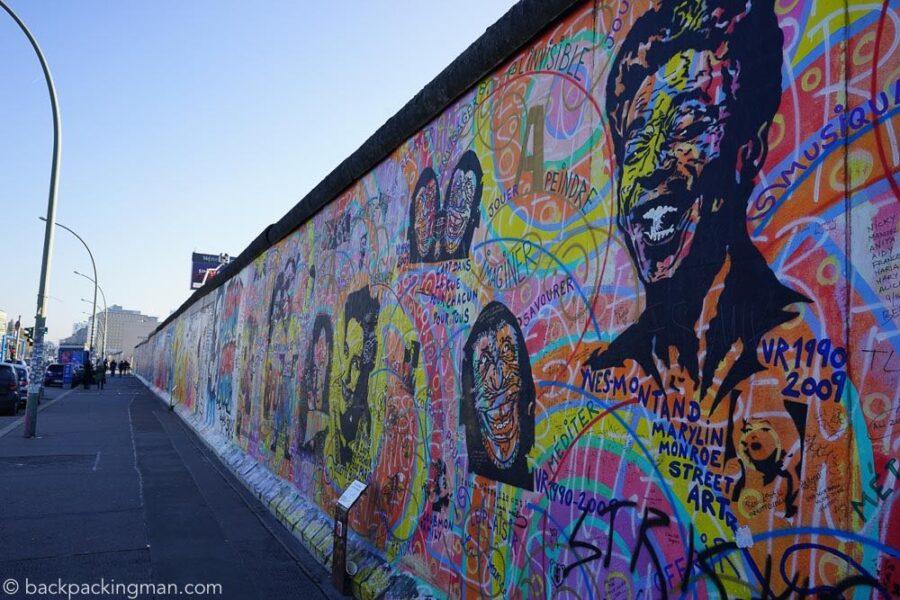 Berlin Walls East Side Gallery Street Art - Travel Germany