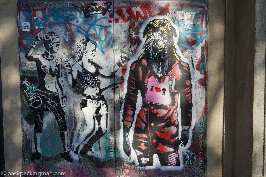 East Side Gallery Art Berlin Wall