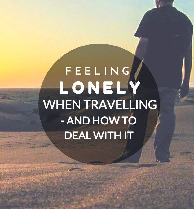 How to get over being lonely