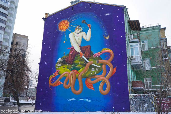 A Street Art Guide to Kiev Ukraine