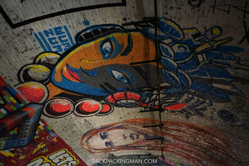 waterloo graffiti london