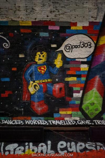 waterloo graffiti tunnel leake street