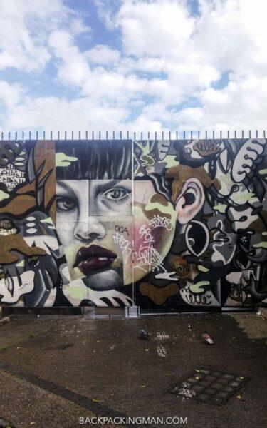 street art in london brick lane
