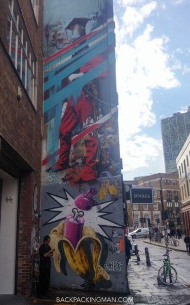 london street art