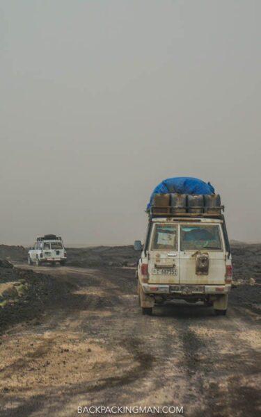 danakil depression transport ethiopia