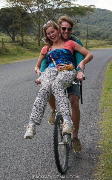 cycling hells gate in kenya