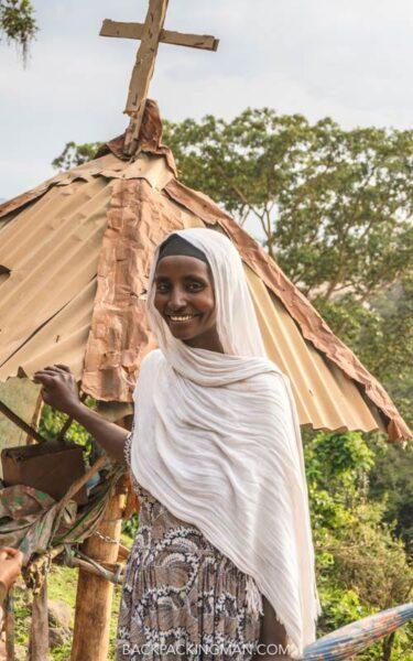 woman in bahir dar ethiopia