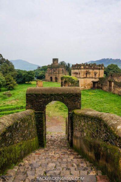 castles in ethiopia in gondar