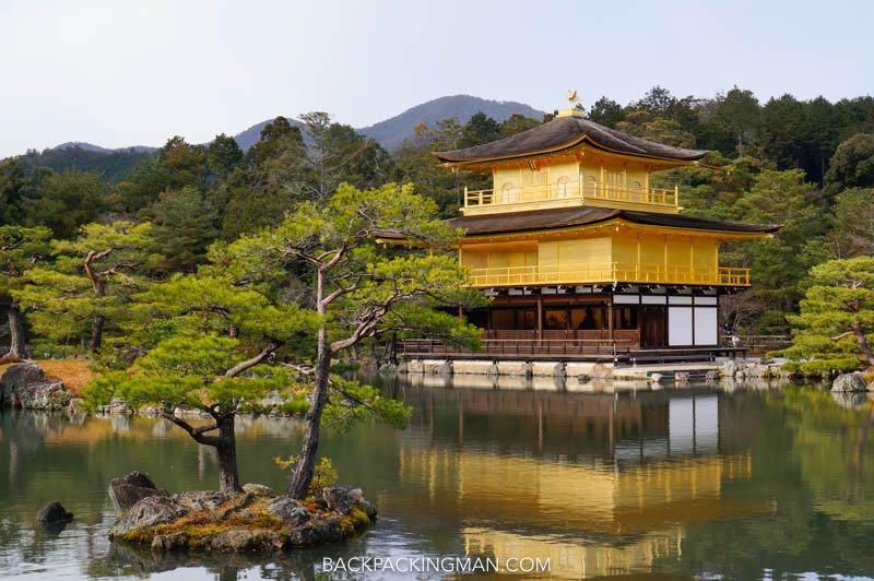golden pavilion temple kyoto