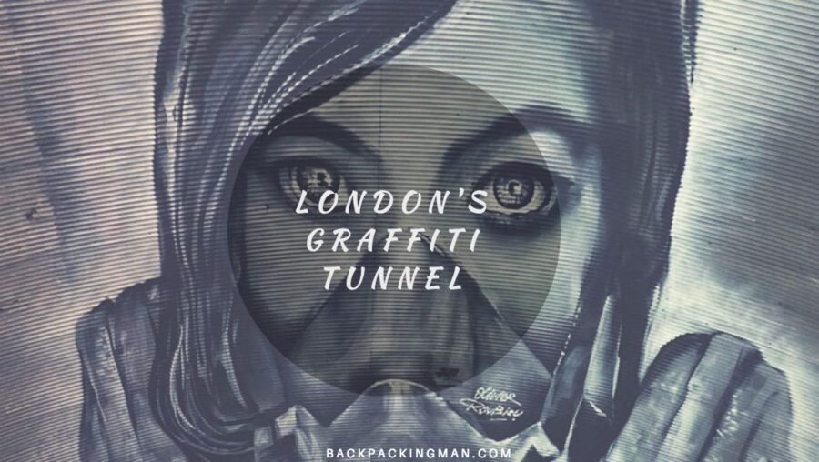 London Graffiti Tunnel - Waterloo Street Art