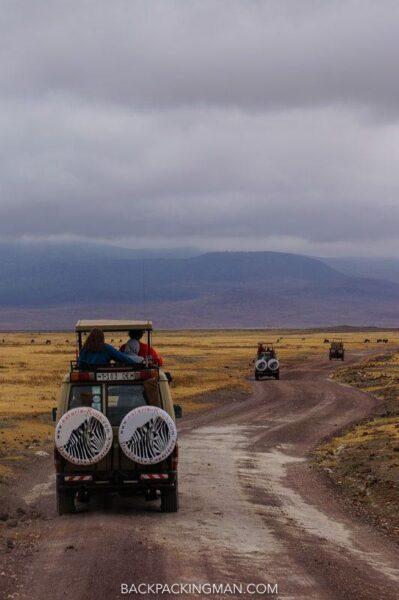 safari in ngorongoro