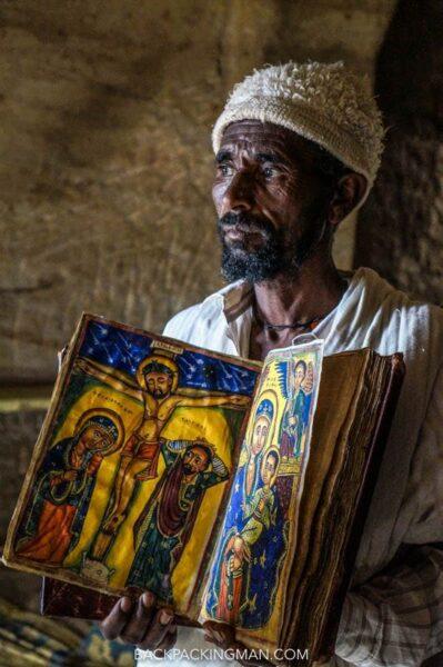 rock hewn churches Tigray Ethiopia