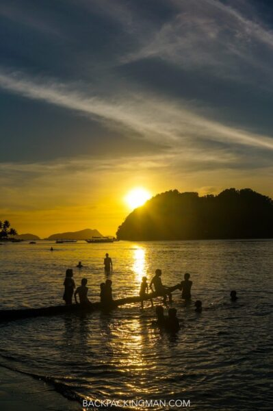 sunset-beach-palawan-philippines