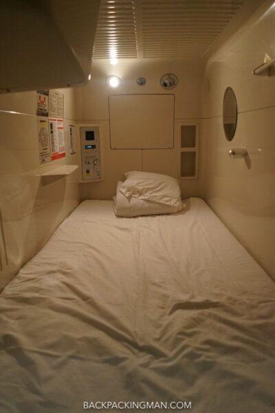 capsule hotel osaka