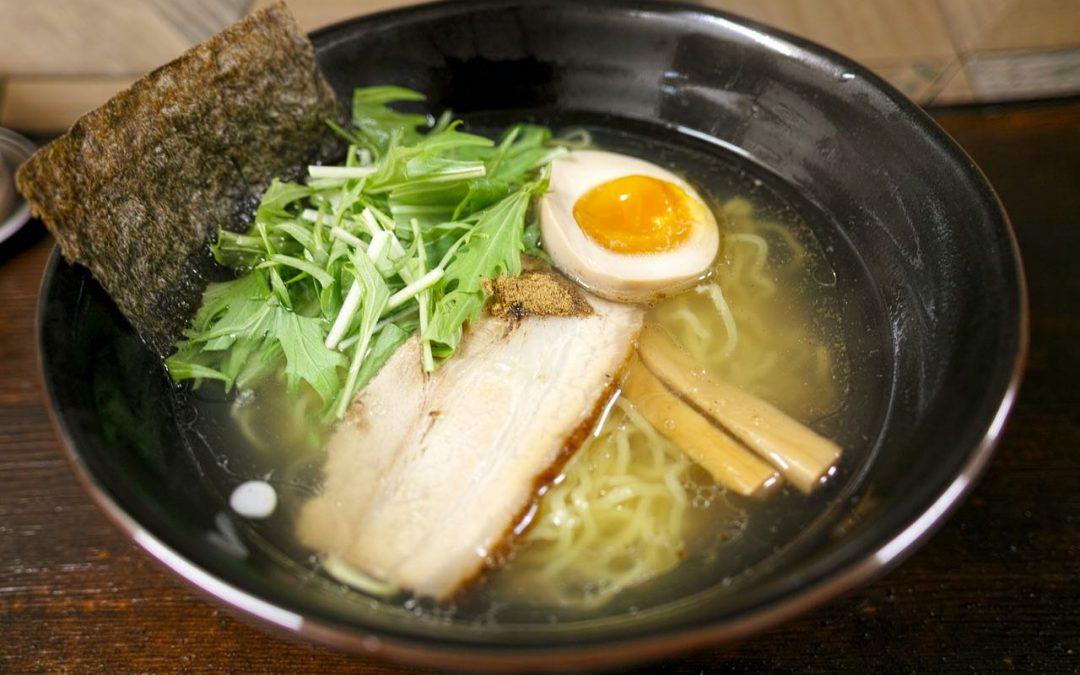 Eating Ramen In Tokyo