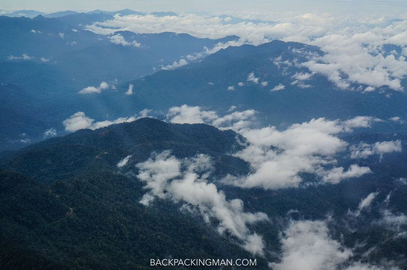 hiking in the kelabit highlands