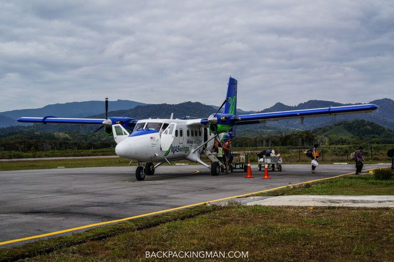 kelabit highlands transport