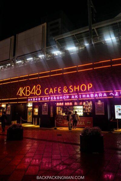 akb48 cafe tokyo