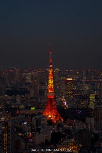tokyo night photography
