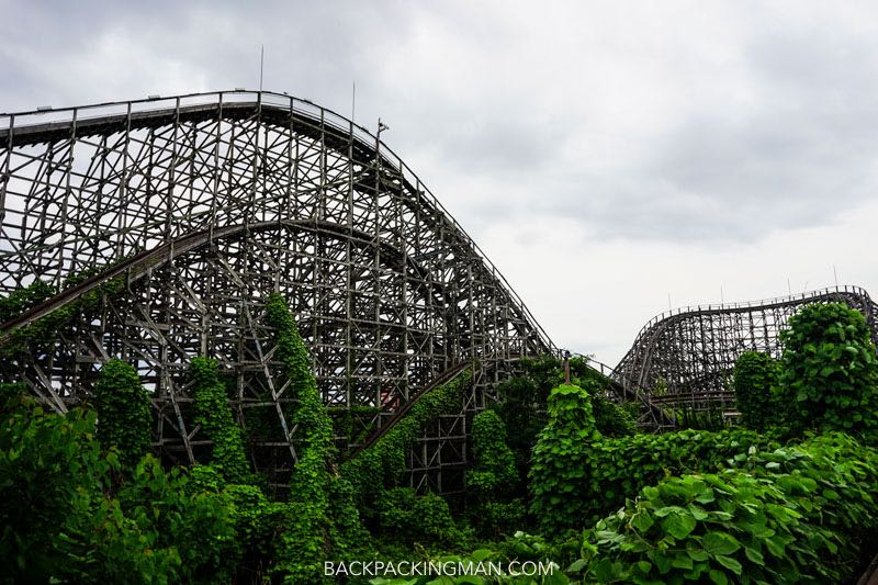 Urban Exploration at Abandoned Theme Park in Nara