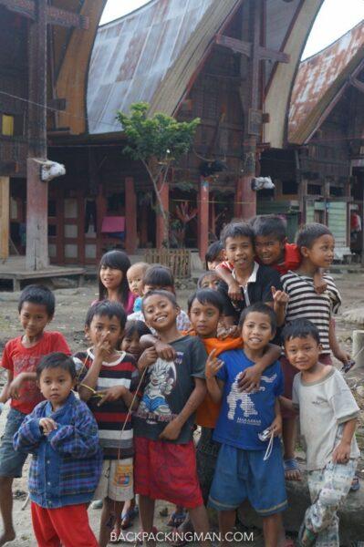 sulawesi children