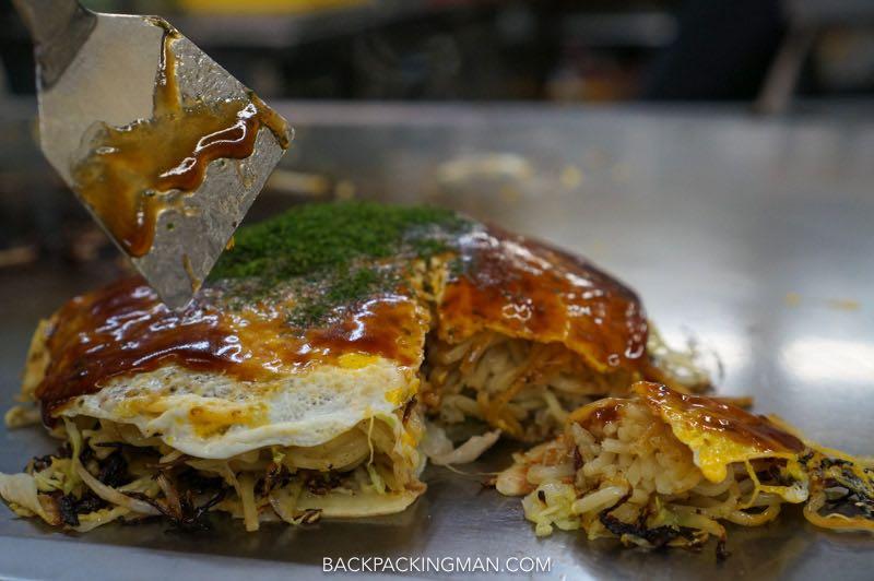 okonomiyaki-hiroshima Japanese food