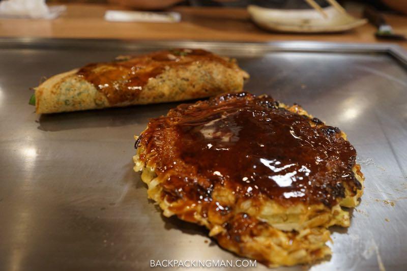 okonomiyaki-osaka Japanese food.