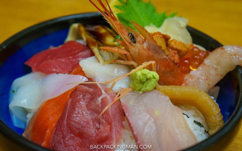 sashimi-tokyo Japanese food.