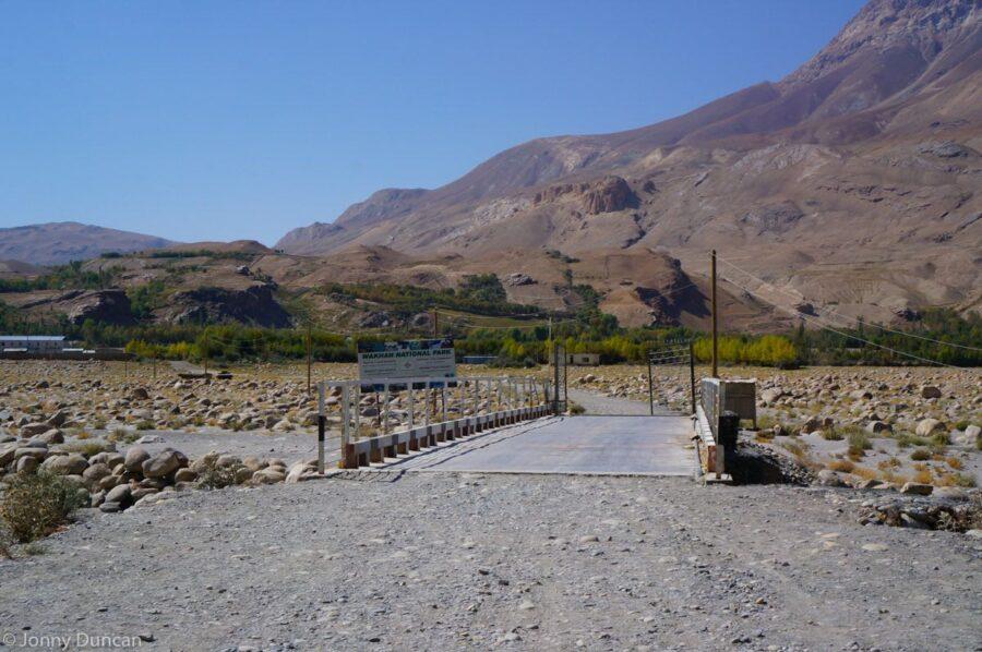 Afghan border Ishkashim.
