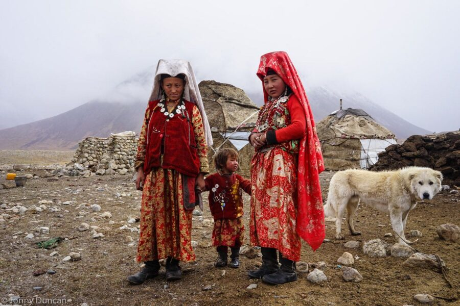 Kyrgyz community in the Little Pamir.