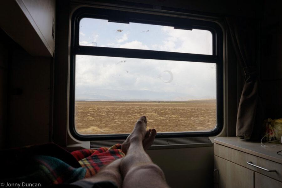 ankara to kars train