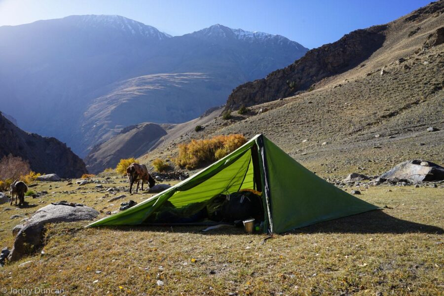 Camping in the Little  Pamir.