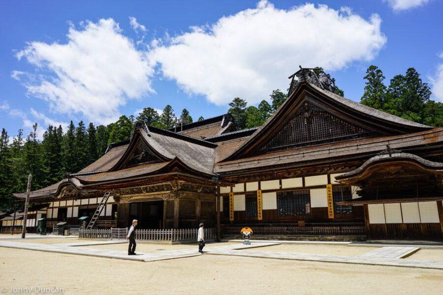 Temple at Koyasan