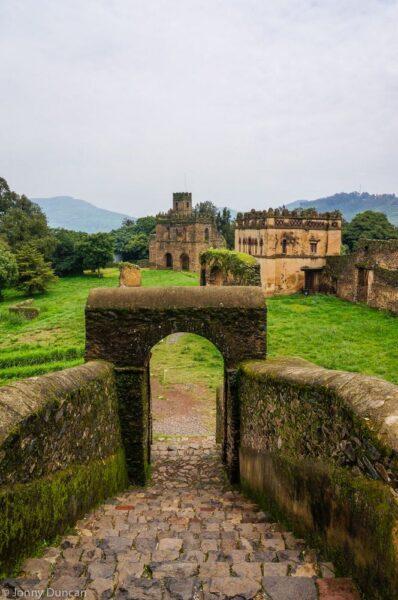 Gondar castles.