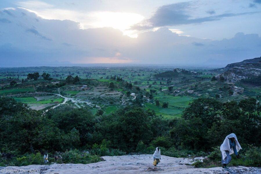 backpacking Ethiopia