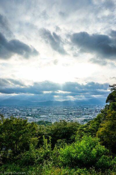 kyoto-sunset