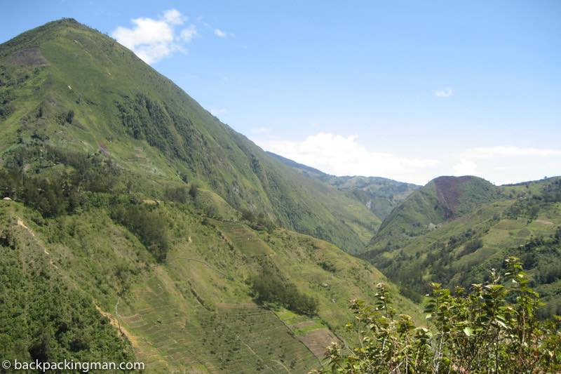 Baliem Valley mountains