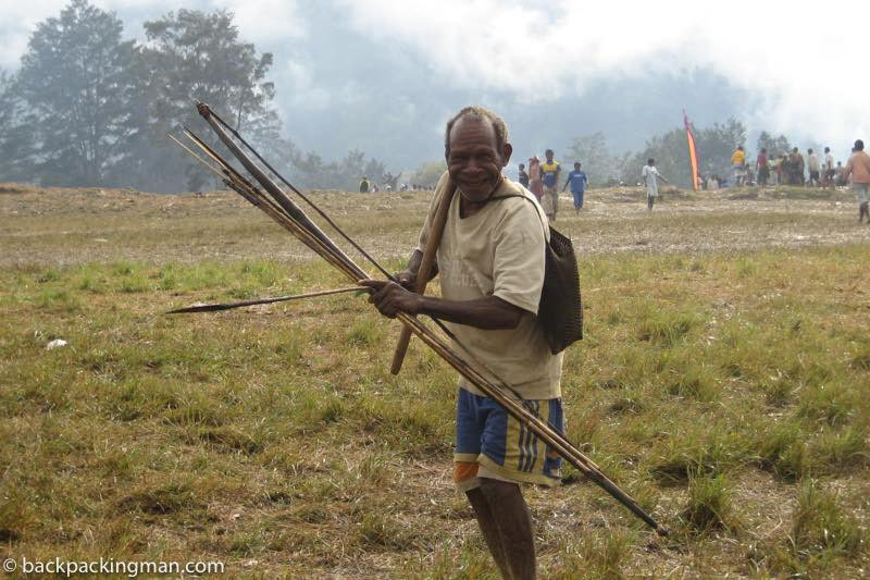 Baliem Valley Dani Tribe hunter