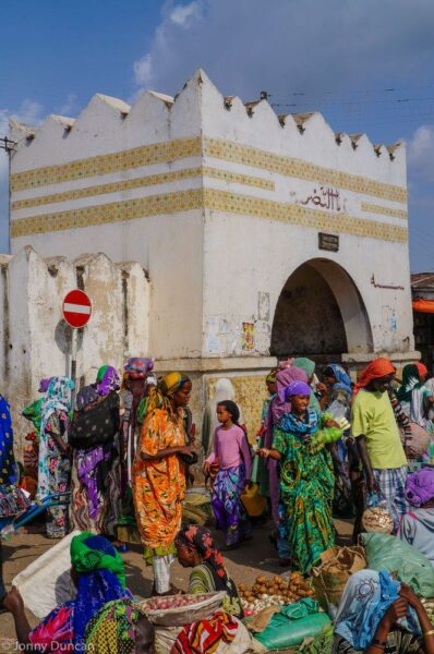 Gateway to Harar old town.